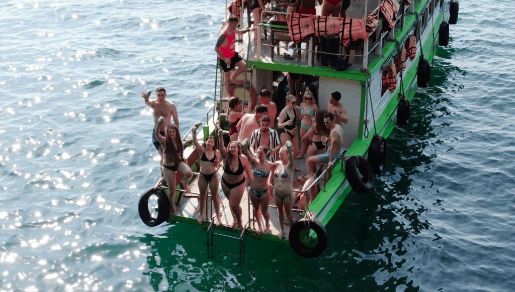 Blanco booze cruise Krabi