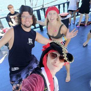 Bodega Phuket pirate crew