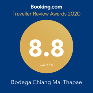 Bodega Thapae booking.com award 2020