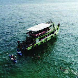 booze cruise Krabi