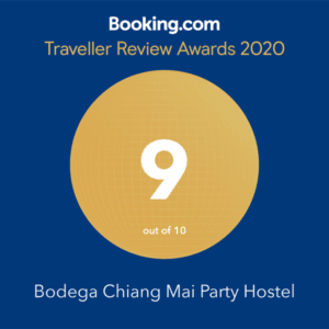 Bodega Chiang Mai booking.com award 2020