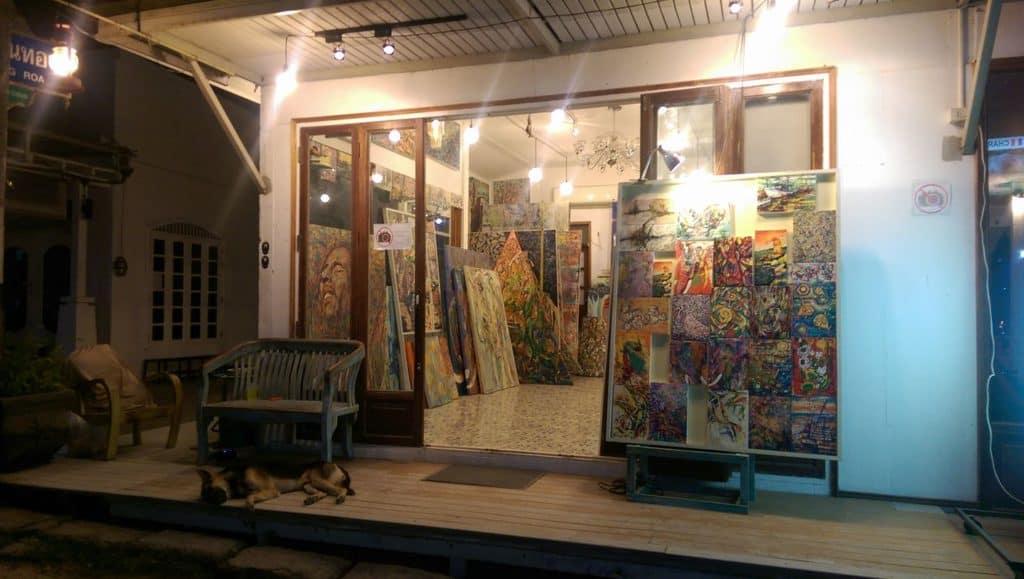 Chujai Gallery in Koh Samui
