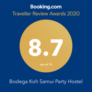 Koh Samui booking.com award 2020
