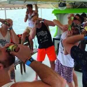 Krabi booze cruise