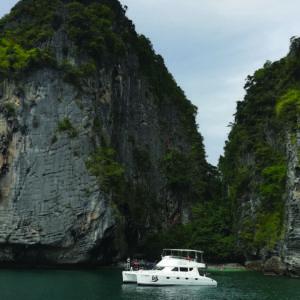 Krabi islands tour boat
