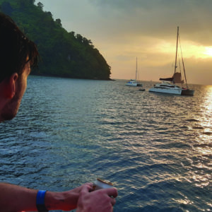 Krabi islands sunset