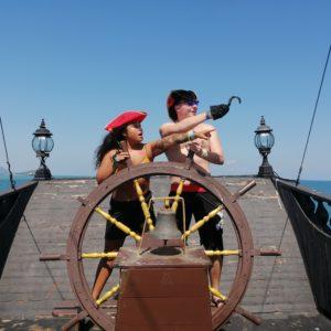 Phuket pirate ship navigators