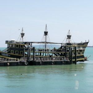 Phuket pirate boat