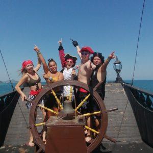 pirate ship booze cruise