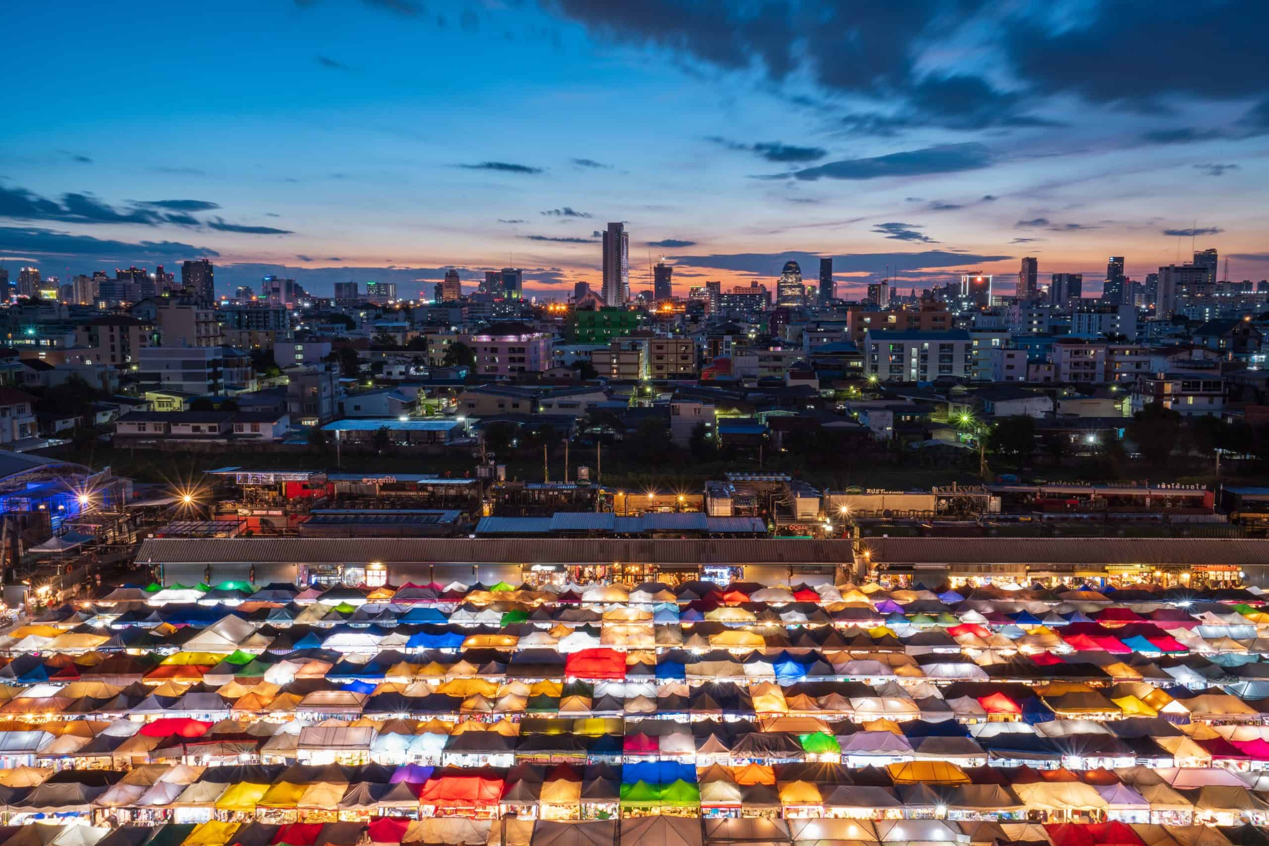 All Aboard the Ratchada Train Station Market in Bangkok!