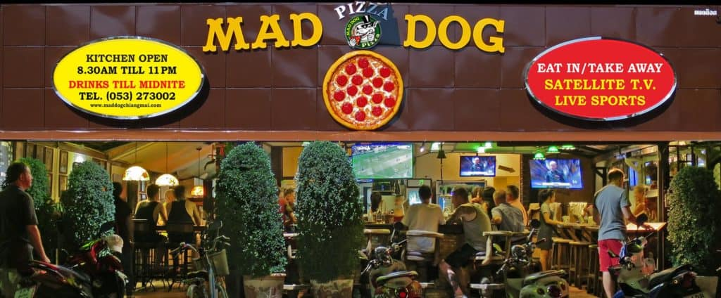Mad Dog Pizza Chiang Mai