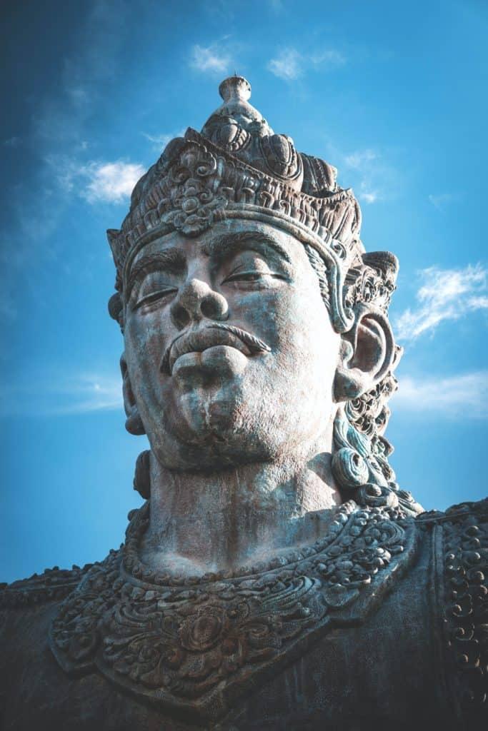 Buddhist Garuda statue