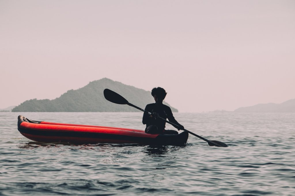 kayaking enthusiast in Thailand