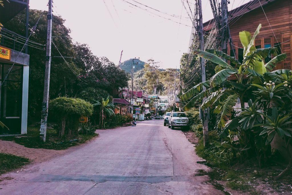 morning walk in Koh Tao, Thailand
